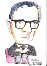 Cartoon: Councillor John O Mahoney (small) by jjjerk tagged wexford vec ireland irish councillor john mahoney cartoon caricature glasses