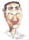 Cartoon: Denzel Washington (small) by jjjerk tagged denzel,washington,actor,american,cartoon,caricature,film,movie