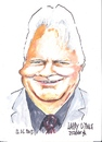 Cartoon: Larry O Toole (small) by jjjerk tagged larry toole councillor cartoon caricature ireland irish blue famous