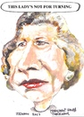 Cartoon: Margaret Hilda Thatcher (small) by jjjerk tagged margaret,thatcher,prime,minister,england,english