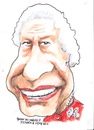 Cartoon: Queen Elizabeth 11 (small) by jjjerk tagged queen,elizabeth,english,england,red,monarchy,cartoon,portrait,caricature