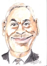 Cartoon: Richard Bruton (small) by jjjerk tagged richaed bruton ireland fine gael politician irish tie