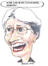 Cartoon: Rosie (small) by jjjerk tagged rosie martin cartoon glasses caricature play irish ireland