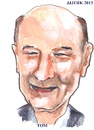 Cartoon: Tom (small) by jjjerk tagged wake in the west michael ginnelly tom cartoon caricature play irish ireland