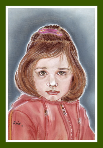 Cartoon: Adela (medium) by Kidor tagged child