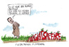Cartoon: o guter reuiger (small) by plassmann tagged guttenberg