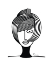 Cartoon: Fashion (small) by Ponciano tagged hair,ponciano
