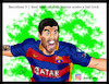 Cartoon: Barcelona 5-1 Real Madrid (small) by Hossein Kazem tagged barcelona,real,madrid