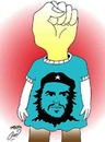 Cartoon: che (small) by Hossein Kazem tagged che