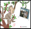 Cartoon: jungle zoo (small) by Hossein Kazem tagged jungle,zoo