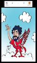 Cartoon: liverpool salah (small) by Hossein Kazem tagged liverpool,salah