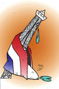 Cartoon: pray for paris (small) by Hossein Kazem tagged pray,for,paris