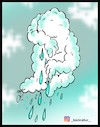 Cartoon: rain (small) by Hossein Kazem tagged rain