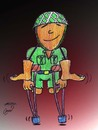 Cartoon: soldier (small) by Hossein Kazem tagged soldier