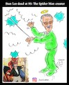 Cartoon: stan lee (small) by Hossein Kazem tagged stan,lee