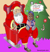 Cartoon: All I want for Christmas........ (small) by DaD O Matic tagged cartoon,correction
