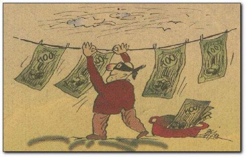 Cartoon: money 1 (medium) by penapai tagged burglar,geld,wäsche,geldwäsche,leine,trocknen,waschmaschine,verbrecher,dieb,falschgeld,blüte,druck,presse,kopie,imitat