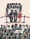 Cartoon: opening ceremony (small) by penapai tagged opening,police