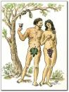 Cartoon: wine (small) by penapai tagged adam,eve,