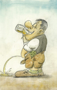 Cartoon: Bierpiseln (small) by philipolippi tagged bier,beer,saufen,pissen,durst
