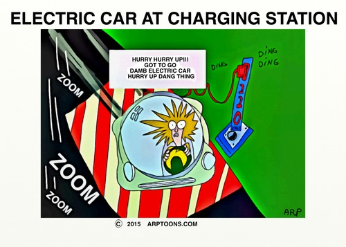 Cartoon: ELECTRIC CARS (medium) by tonyp tagged arp,electric,cars,arptoons