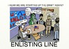 Cartoon: Draft Line in  USA (small) by tonyp tagged arp,enlist,draft,line,arptoons