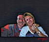 Cartoon: Friends (small) by tonyp tagged phil,tonyp,art,friends,arp