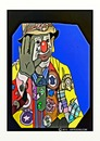Cartoon: JP PATCHES SEATTLE WASH. USA (small) by tonyp tagged arp,clown,jp,patches,arptoons