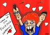 Cartoon: valentines card (small) by tonyp tagged arp,valentines,day,card,weirdo