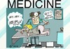Cartoon: wrong kind of doctor (small) by tonyp tagged arp,hard,wrong,kind,of,dr,times,dog,vet,doctor,temp