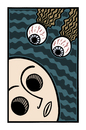 Cartoon: Judgement (small) by baggelboy tagged eyes,god