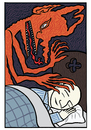 Cartoon: Sweet dreams (small) by baggelboy tagged sleep,dream,demon