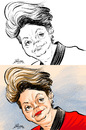 Cartoon: Dilma Rousseff (small) by William Medeiros tagged brasilian,president