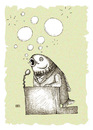 Cartoon: Speaker (small) by weiszb tagged politicy,election,fish,speech