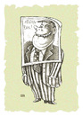 Cartoon: Vote for me! (small) by weiszb tagged election,campaign,policy,criminal