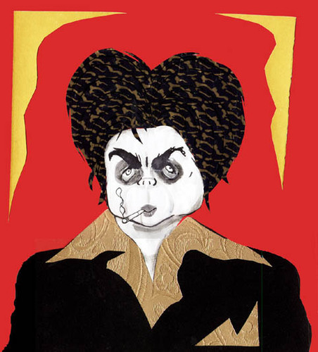 Cartoon: Benicio Del Toro (medium) by juniorlopes tagged caricature
