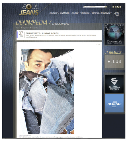 Cartoon: Interview for fashion site (medium) by juniorlopes tagged interview