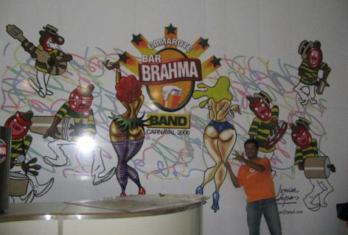 Cartoon: Outdoor carnaval Sao Paulo (medium) by juniorlopes tagged carnaval,