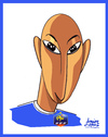 Cartoon: Anelka (small) by juniorlopes tagged world,cup