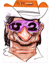Cartoon: Bono (small) by juniorlopes tagged u2,bono,caricature