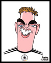Cartoon: Lahm (small) by juniorlopes tagged world,cup