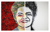 Cartoon: President Dilma (small) by juniorlopes tagged dilma,roussef,brazil,illustration