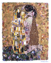 Cartoon: The Kiss (small) by juniorlopes tagged kiss,klimt