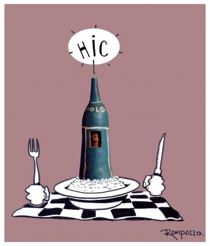 Cartoon: HIC ! (medium) by Marcelo Rampazzo tagged hic,