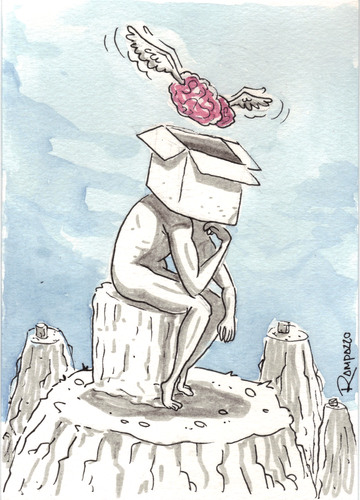 Cartoon: Out of Box (medium) by Marcelo Rampazzo tagged mind,free,box,thinking,ideas,mind,free,box,thinking,ideas