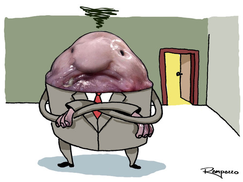 Cartoon: The Boss (medium) by Marcelo Rampazzo tagged the,boss