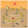 Cartoon: Egypt (small) by Marcelo Rampazzo tagged egypt