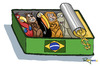 Cartoon: Made in Brazil (small) by Marcelo Rampazzo tagged animals,traffic