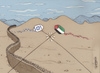 Cartoon: Palestine (small) by Marcelo Rampazzo tagged war,palestine,gaza,courtyard