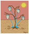 Cartoon: sustainability (small) by Marcelo Rampazzo tagged sustainability